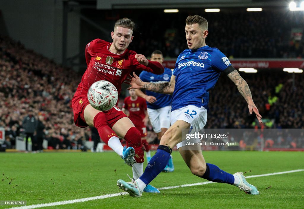 Liverpool FC v Everton FC - FA Cup Third Round : News Photo