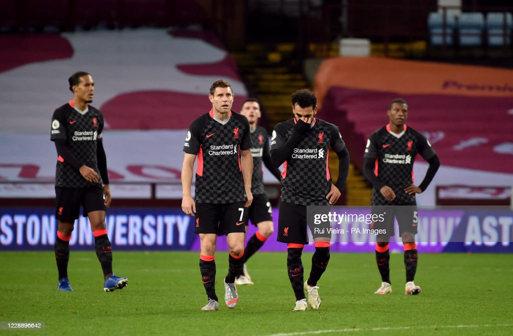 Aston Villa v Liverpool - Premier League - Villa Park : News Photo