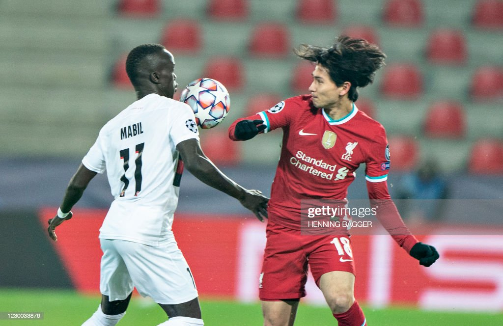 FBL-EUR-C1-MIDTJYLLAND-LIVERPOOL : News Photo
