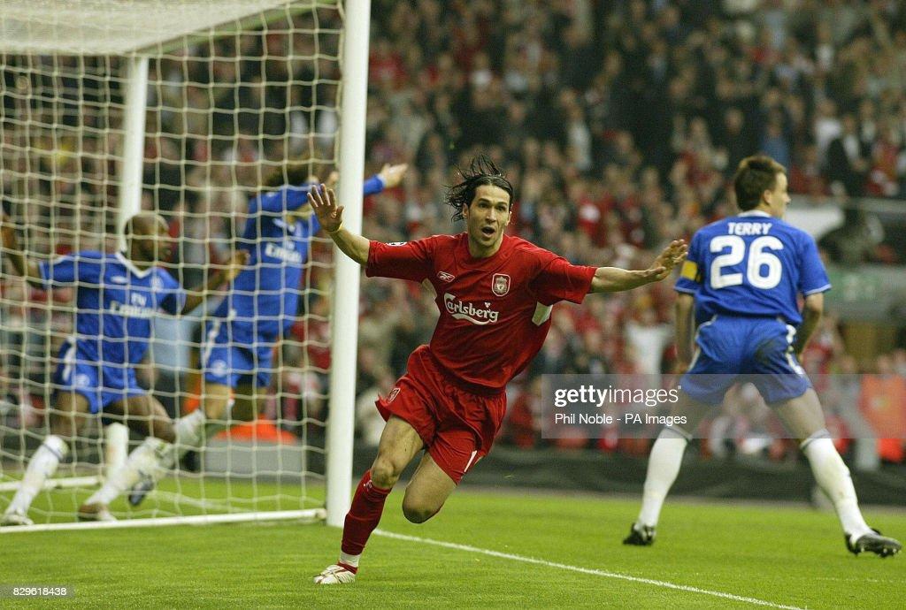 Soccer - UEFA Champions League - Semi-Final - Second Leg - Liverpool v Chelsea - Anfield : News Photo