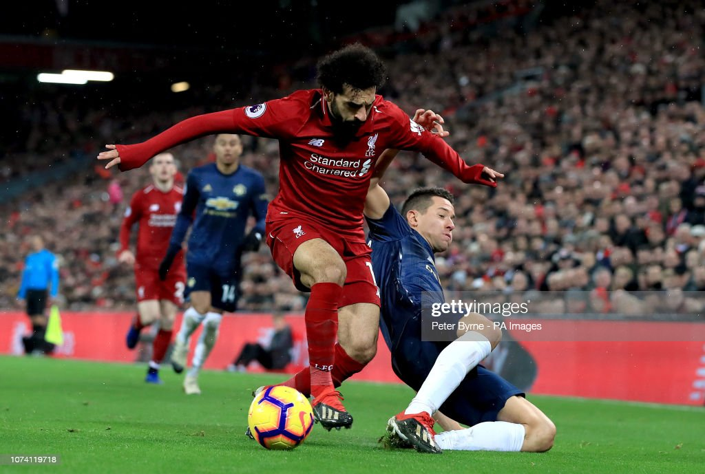 Liverpool v Manchester United - Premier League - Anfield : ニュース写真