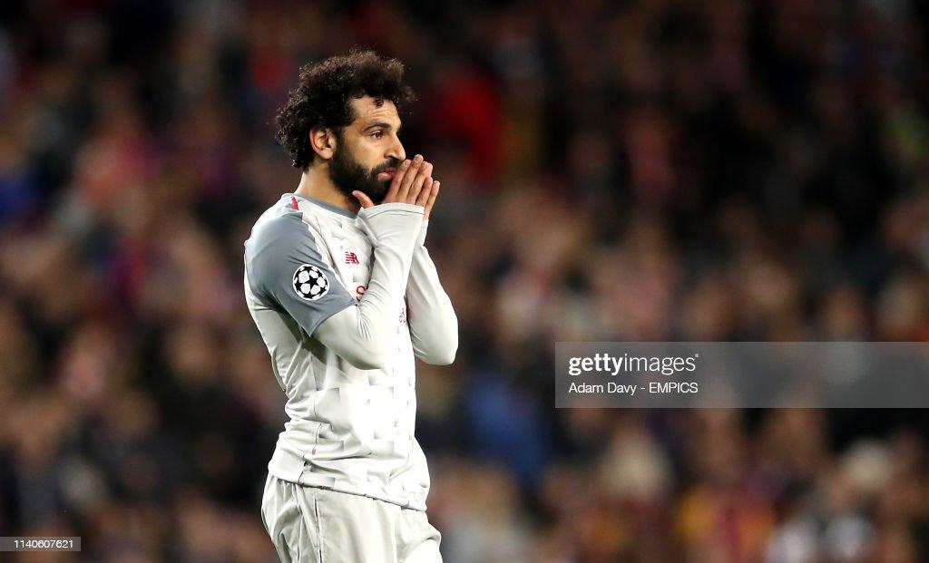Barcelona v Liverpool - UEFA Champions League - Semi Final - First Leg - Camp Nou : News Photo
