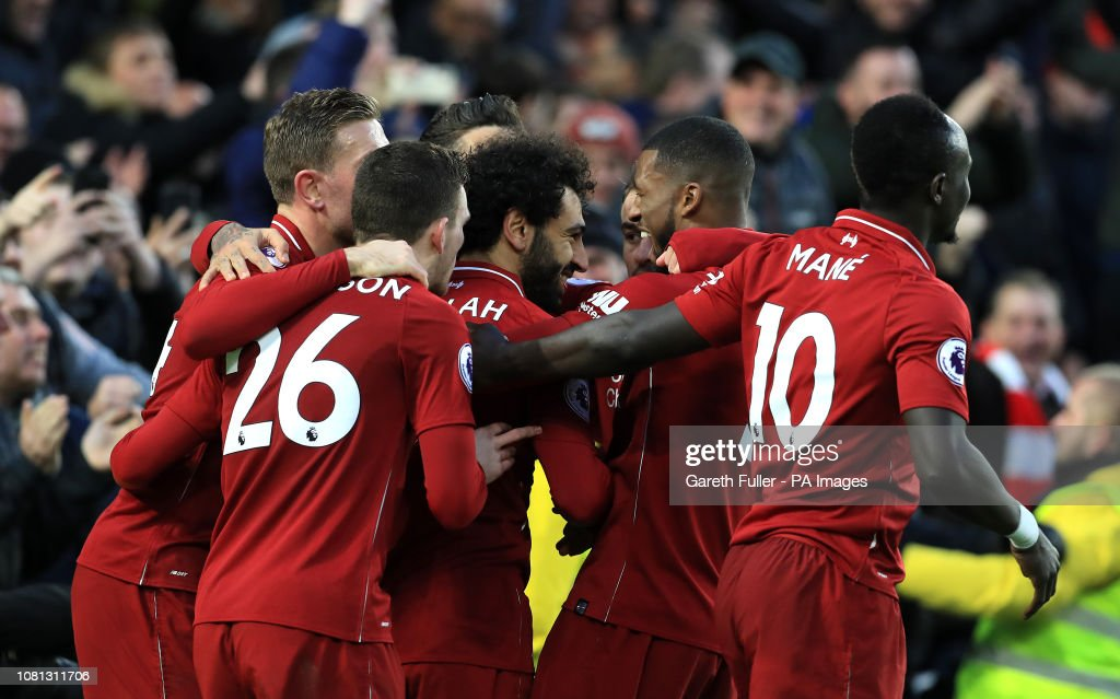 Brighton and Hove Albion v Liverpool - Premier League - AMEX Stadium : News Photo