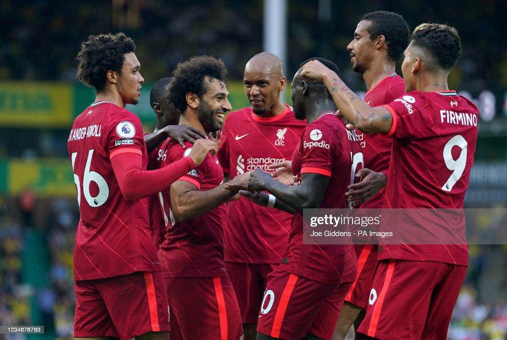Norwich City v Liverpool - Premier League - Carrow Road : News Photo