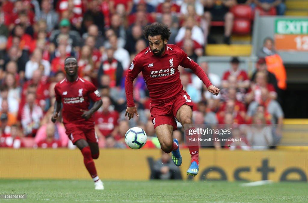 Liverpool FC v West Ham United - Premier League : News Photo