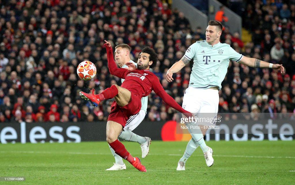 Liverpool v Bayern Munich - UEFA Champions League - Round of 16 - First Leg - Anfield : News Photo