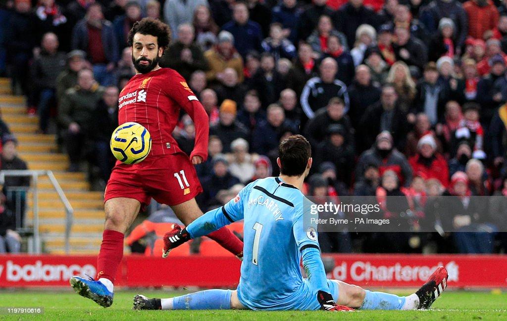 Liverpool v Southampton - Premier League - Anfield : News Photo