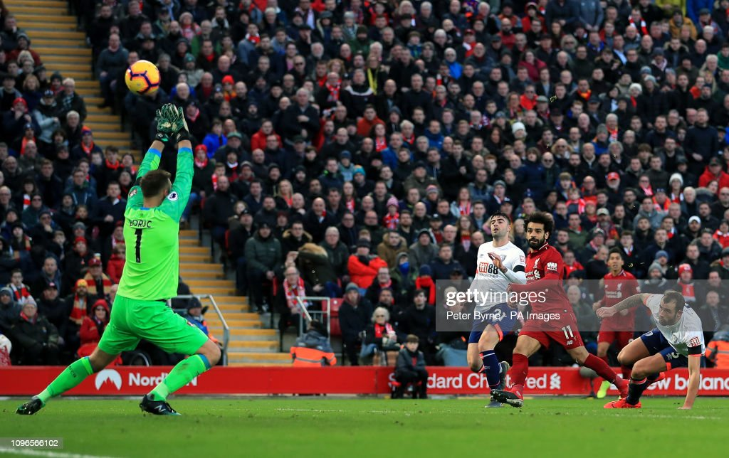 Liverpool v AFC Bournemouth - Premier League - Anfield : News Photo