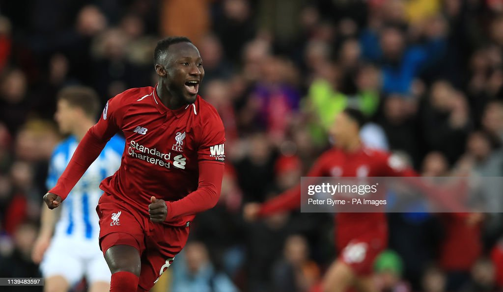 Liverpool v Huddersfield Town - Premier League - Anfield : News Photo