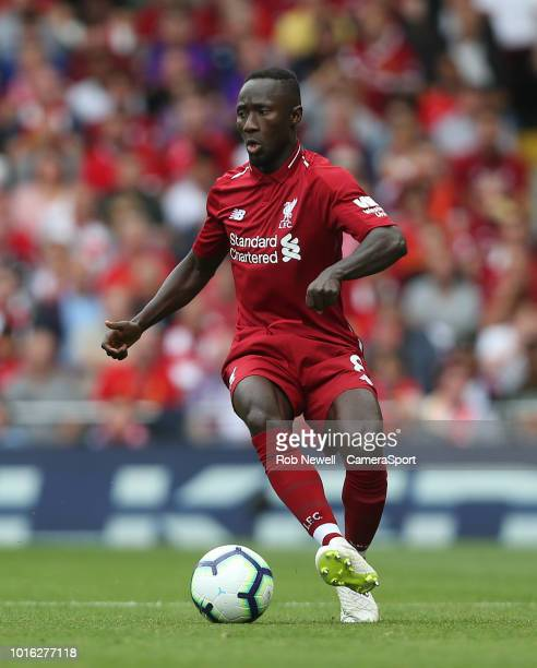 Liverpool's Naby Keita during the Premier League match between Liverpool FC and West Ham United at Anfield on August 12 2018 in Liverpool United...