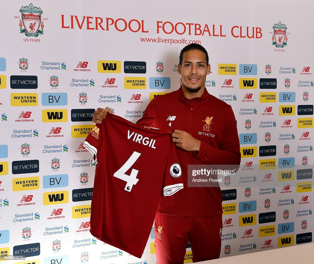 Liverpool Unveil New Signing Virgil van Dijk