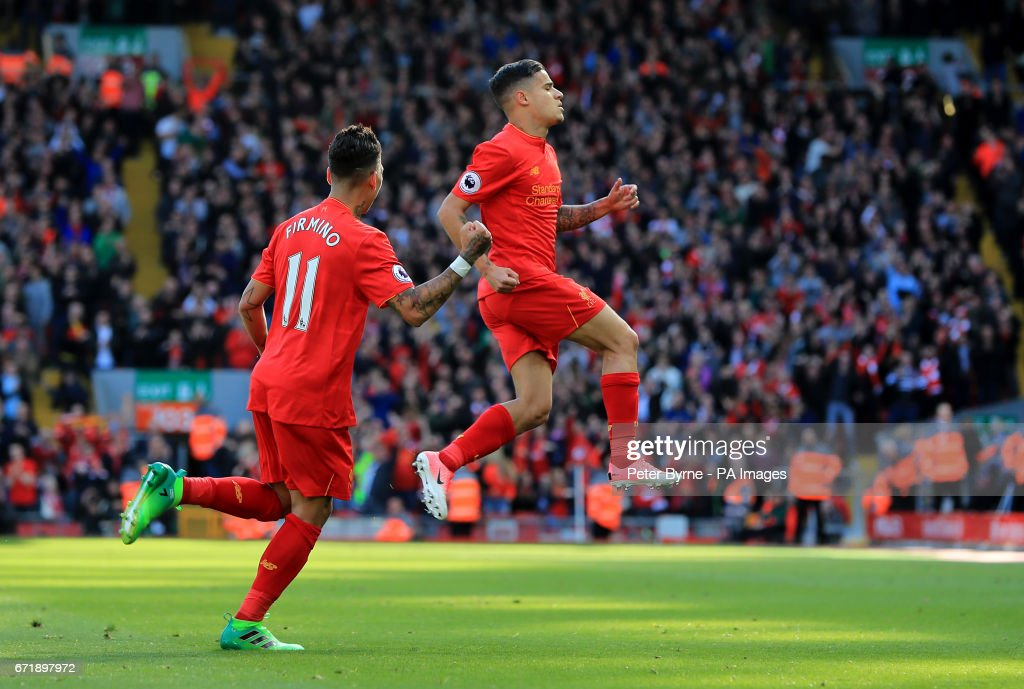 Liverpool v Crystal Palace - Premier League - Anfield : News Photo