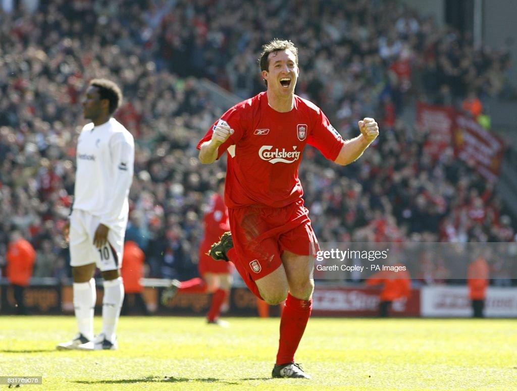 Soccer - FA Barclays Premiership - Liverpool v Bolton Wanderers - Anfield : News Photo