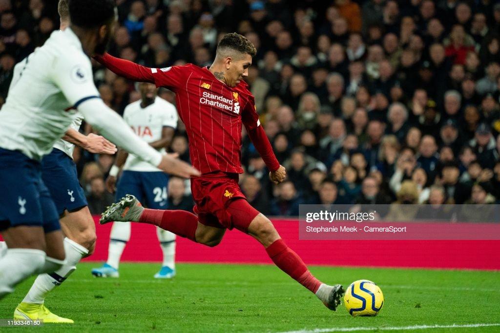Tottenham Hotspur v Liverpool FC - Premier League : Nieuwsfoto's