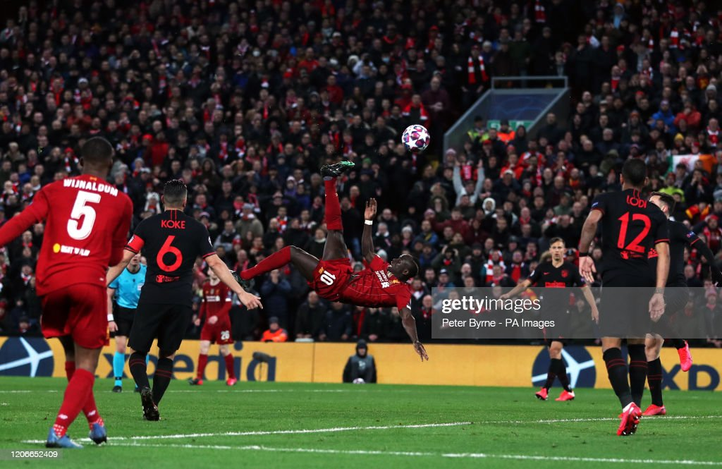 Liverpool v Atletico Madrid - UEFA Champions League - Round of 16 - Second Leg - Anfield : News Photo