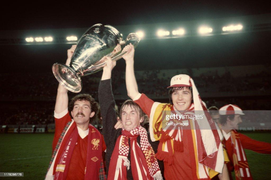 Liverpool 1981 UEFA European Cup Final Winners : ニュース写真