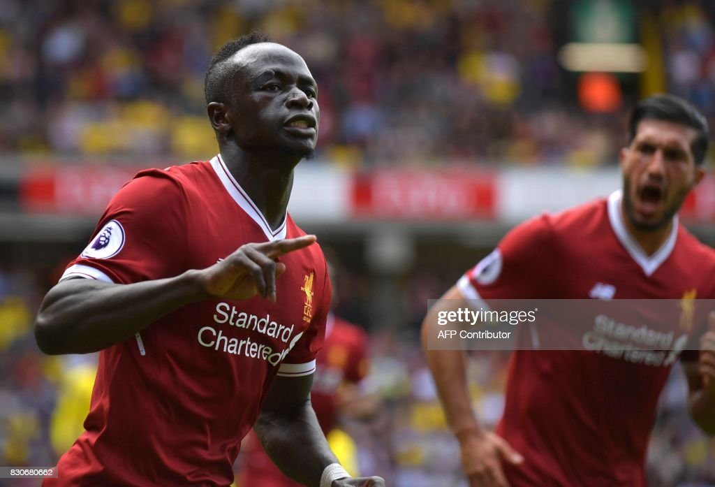 FBL-ENG-PR-WATFORD-LIVERPOOL : News Photo