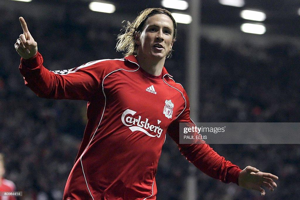 Liverpool's Spanish forward Fernando Tor : News Photo