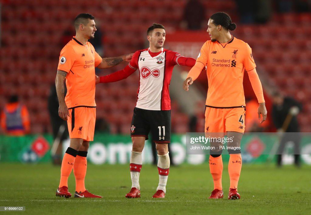 Southampton v Liverpool - Premier League - St Mary's Stadium : News Photo