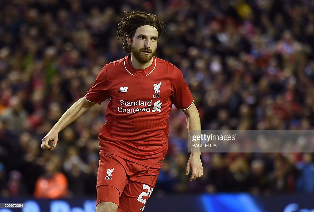 FBL-ENG-LCUP-LIVERPOOL-STOKE : News Photo