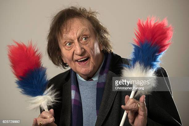 Liverpudlian comedy legend Ken Dodd OBE poses for a portrait after he officially opened the refurbished St John's Market on November 25 2016 in...