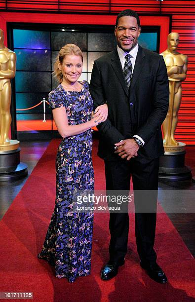 LIVEÕs PreOscar¨ CelebrationÓ Ð On Friday February 22 to gear up for the upcoming Oscar weekend Kelly Ripa and Michael Strahan are looking back at...