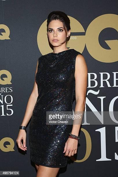 Livia Brito attends the GQ Mexico Men of The Year 2015 awards at Live Aqua Bosques hotel on November 4 2015 in Mexico City Mexico