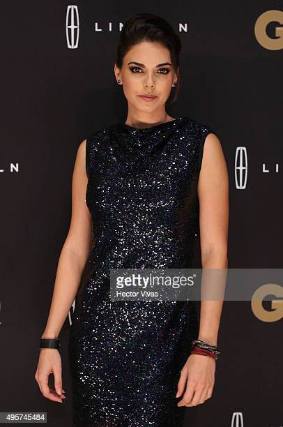 Livia Brito poses during the red carpet of GQ Mexico Men of The Year 2015 Awards at Live Aqua on November 04 2015 in Mexico City Mexico