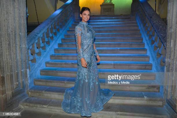 Livia Brito poses for photos during the presentatiion of the serie 'Medicos' latin adaptacion of Greys Anatomy on November 7 2019 in Mexico City...