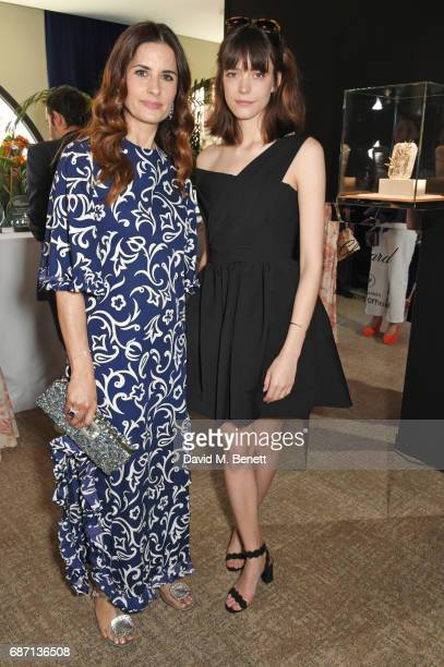 Livia Firth and Stacy Martin attend a private lunch hosted by Colin Livia Firth and Caroline Scheufele celebrating Chopard and the Journey to...