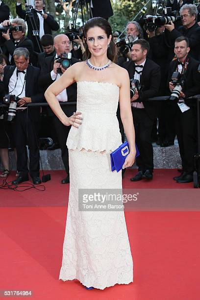 Livia Firth attends a screening of 'Loving' at the annual 69th Cannes Film Festival at Palais des Festivals on May 16 2016 in Cannes France