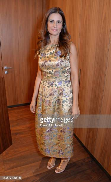 Livia Firth attends a screening of the 'Forever Tasmania' documentary at the Mandarin Oriental Milan on September 22 2018 in Milan Italy