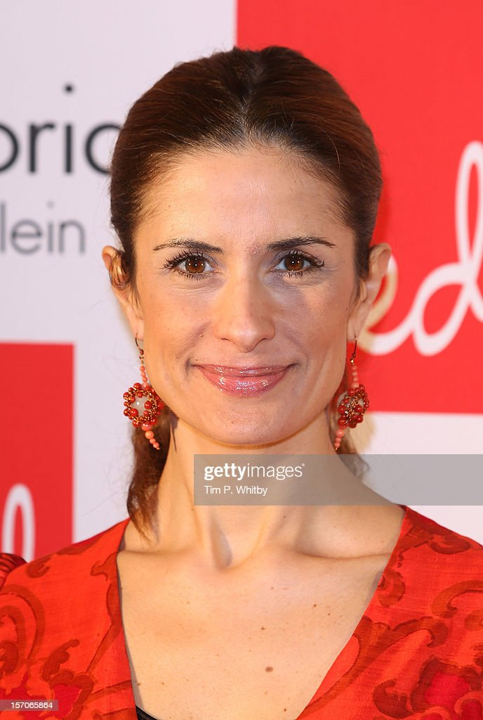 Livia Firth attends Red Hot Women Awards, in association with euphoria Calvin Klein on November 28, 2012 in London, United Kingdom.