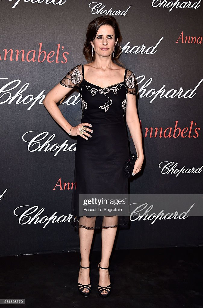 Livia Firth attends the Chopard Gent's Party at Annabel's in Cannes during the 69th Cannes Film Festival on May 14, 2016 in Cannes, France.