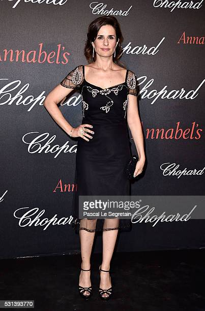 Livia Firth attends the Chopard Gent's Party at Annabel's in Cannes during the 69th Cannes Film Festival on May 14 2016 in Cannes France