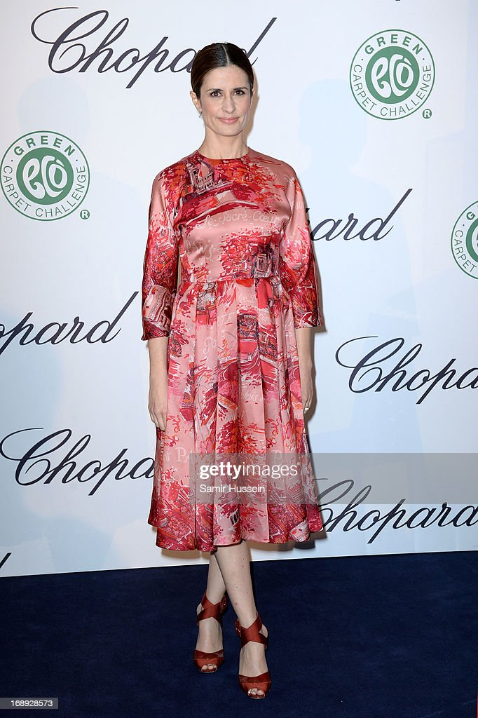 Livia Firth attends the Chopard Lunch during the 66th Annual Cannes Film Festival on May 17, 2013 in Cannes, France.