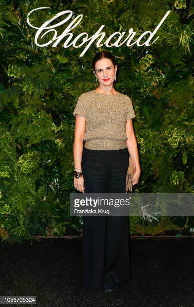 Livia Firth attends the Chopard Night of Green Emotions on November 9 2018 in Berlin Germany