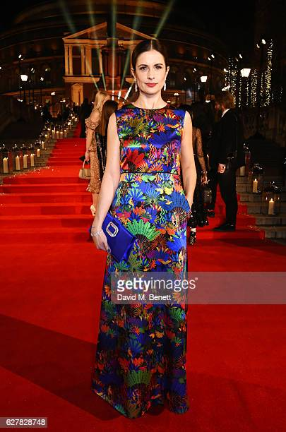 Livia Firth attends The Fashion Awards 2016 at Royal Albert Hall on December 5 2016 in London United Kingdom