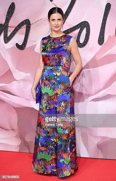 Livia Firth attends The Fashion Awards 2016 at the Royal Albert Hall on December 5 2016 in London United Kingdom