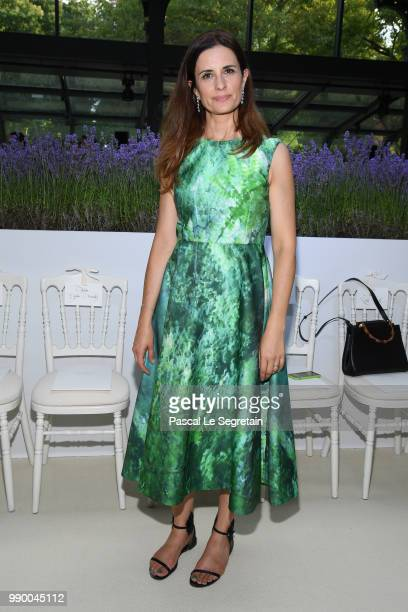 Livia Firth attends the Giambattista Valli Haute Couture Fall Winter 2018/2019 show as part of Paris Fashion Week on July 2 2018 in Paris France