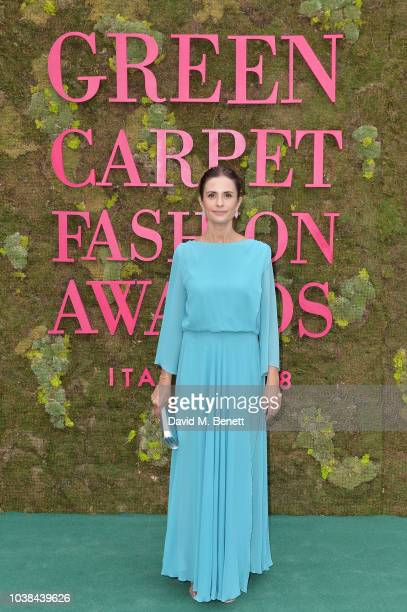 Livia Firth attends The Green Carpet Fashion Awards Italia 2018 at Teatro Alla Scala on September 23 2018 in Milan Italy