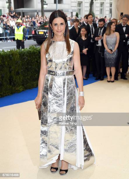 Livia Firth attends the 'Rei Kawakubo/Comme des Garcons Art Of The InBetween' Costume Institute Gala at the Metropolitan Museum of Art on May 1 2017...