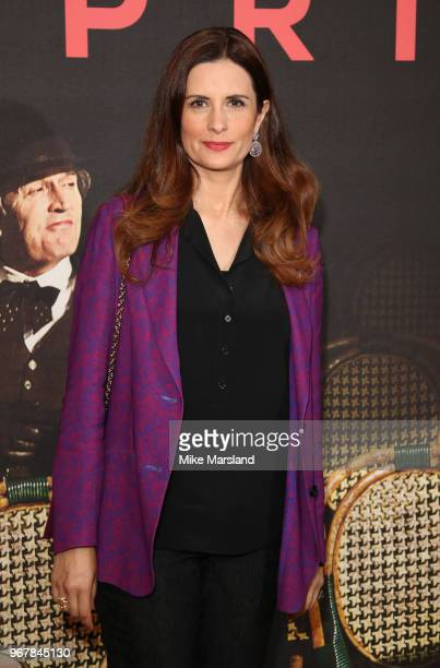 Livia Firth attends the UK premiere of 'The Happy Prince' at Vue West End on June 5 2018 in London England