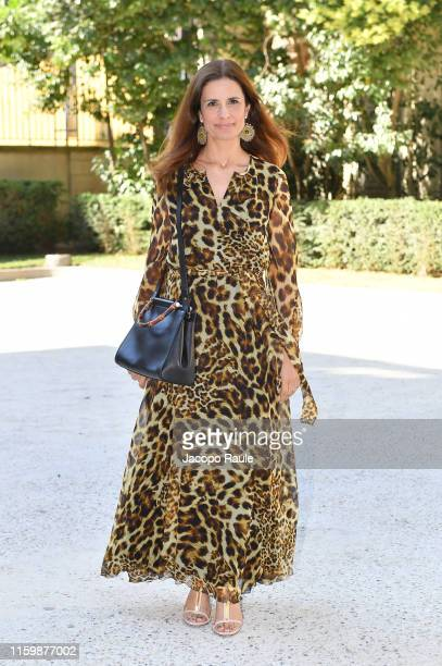 Livia Firth attends the Valentino Haute Couture Fall/Winter 2019 2020 show as part of Paris Fashion Week on July 03, 2019 in Paris, France.