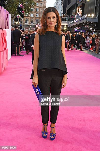 Livia Firth attends the World Premiere of 'Bridget Jones's Baby' at Odeon Leicester Square on September 5 2016 in London England