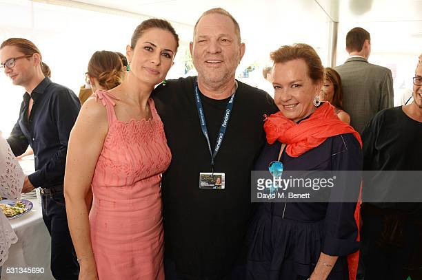 Livia Firth Harvey Weinstein and Caroline Scheufele Artistic Director and CoPresident of Chopard attend a private lunch hosted by Colin Firth Livia...