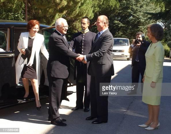 Vaclav Klaus Mladsi News: Livia Klausova, Vaclav Klaus, King Juan Carlos Of Spain