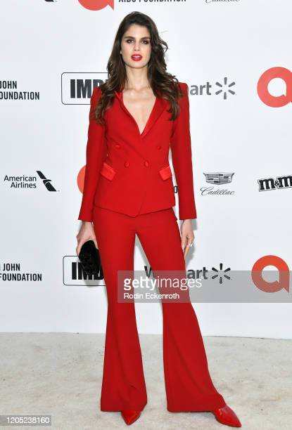 Livia Pillmann attends the 28th Annual Elton John AIDS Foundation Academy Awards Viewing Party Sponsored By IMDb And Neuro Drinks on February 09,...