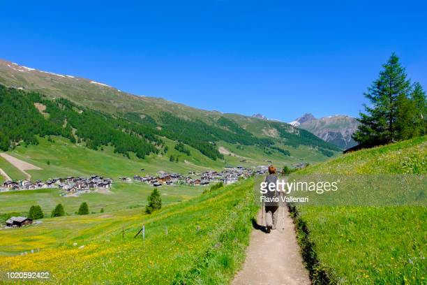 Livigno in summer (Lombardy, Italy)