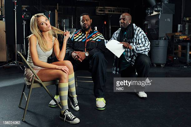 30 ROCK Livin' XL with Grozz Dotcom Webisode 4410 Air Date Pictured Katrina Bowden as Cerie Grizz Chapman as Grizz Kevin Brown as Dotcom